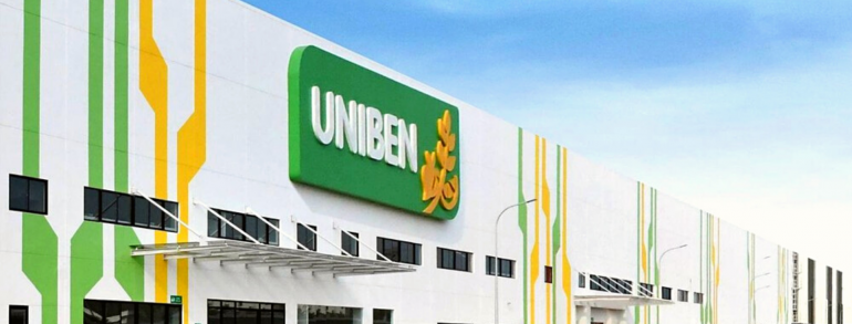 UNIBEN JOINT STOCK COMPANY<br/>NEW FACTORY IN VSIP-II PROJECT