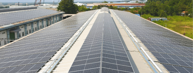 COMPLETED 4 ROOFTOP SOLAR PROJECTS